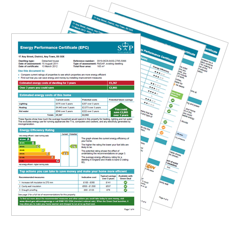 Energy Performance Certificates with Lettings Direct